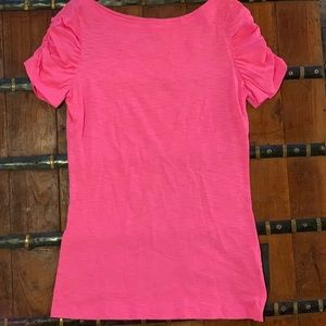 LP bright pink top
